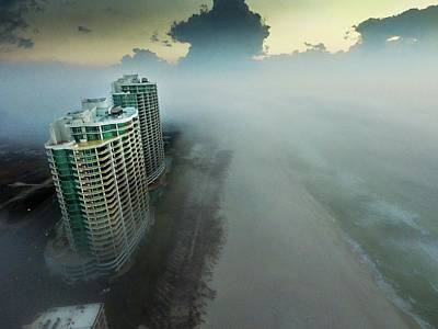 Digital Art - Above The Fog At Turquoise Place by Michael Thomas