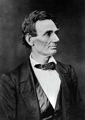 Photograph - Abraham Lincoln - 16th U.s. President by Doc Braham