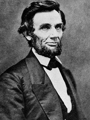 Photograph - Abraham Lincoln  by Doc Braham