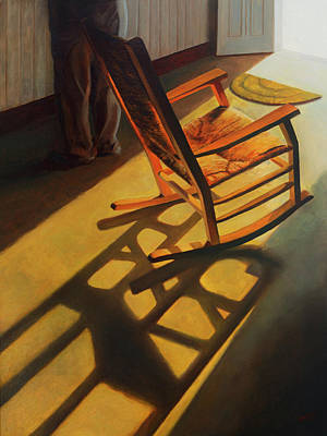 Painting - Absence by Ben Morales-Correa