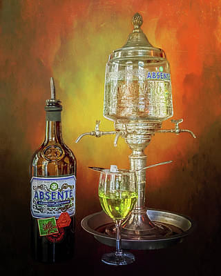Photograph - Absinthe by Susan Rissi Tregoning