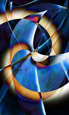 Digital Art - Abstract 09-18 by David Lane