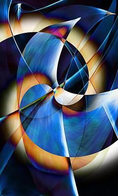 Digital Art - Abstract 09-18 by David Lane