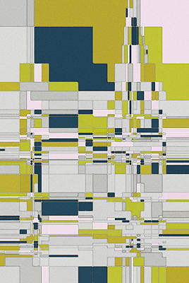 Digital Art - Abstract 1.1 by David Hansen