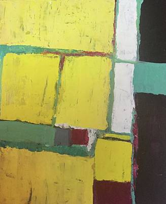 Painting - Abstract 4 Yellow by Cherylene Henderson