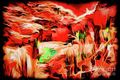 Painting - Abstract A18-76 by Ray Shrewsberry