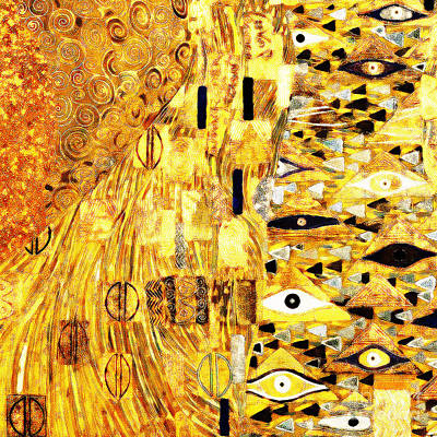 Photograph - Abstract Art Gustav Klimt 20190215 Plate3 by Wingsdomain Art and Photography