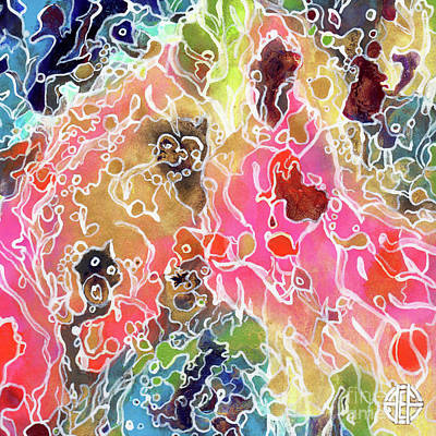 Painting - Abstract B 7 by Amy E Fraser
