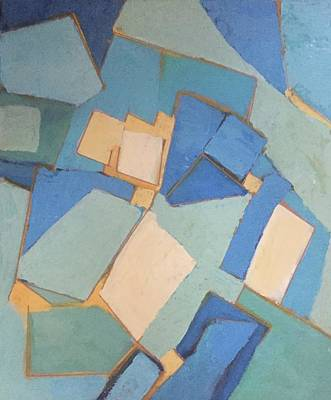 Painting - Abstract Books by Cherylene Henderson
