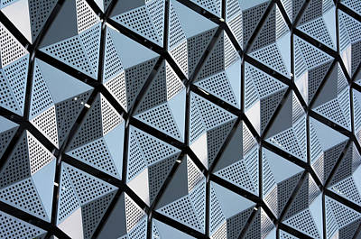 Photograph - Abstract Car Park Facade by Stuart Allen