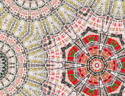 Drawing - Abstract City Map 2a by Artist Dot