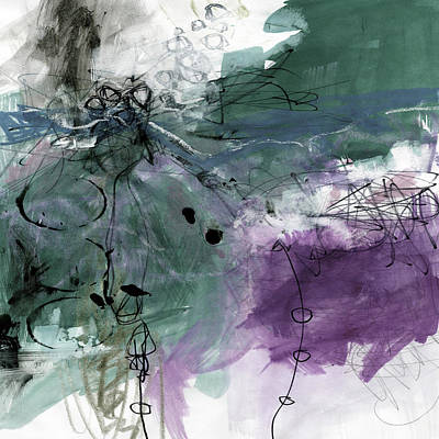 Claude Monet - Abstract Composition 6J by Kathy Morton Stanion