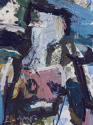 Painting - Abstract Cow Print by Robert Joyner