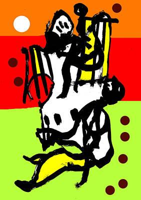 Digital Art - Abstract Expressionism Digital 2 by Artist Dot