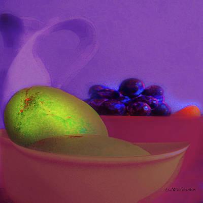 Abstract Fruit Art  109 Art Print