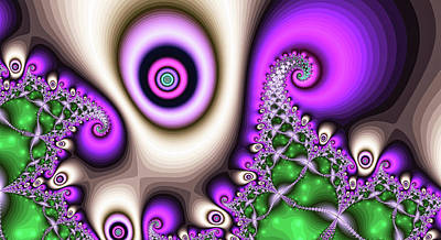 Surrealism Digital Art - Abstract Hurricane Fine Art by Don Northup