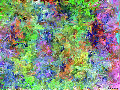 Digital Art - Abstract Impressionism by Rein Nomm