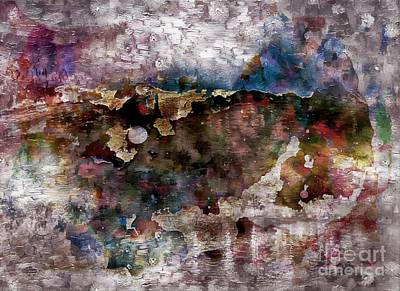 Mixed Media - Abstract Impressions by Jolanta Anna Karolska