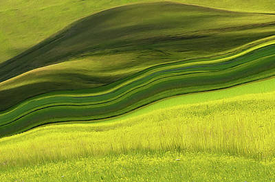 Photograph - Abstract Landscape by Edoardogobattoni.net