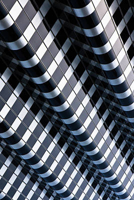 Photograph - Abstract Lines In Buildning by Henrik Johansson, Www.shutter-life.com