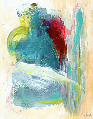 Painting - Abstract by Nikol Wikman