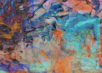 Amy Weiss - Abstract Passion by Diann Fisher