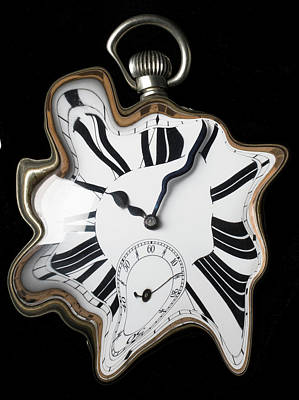 Photograph - Abstract Pocket Watch by Garry Gay