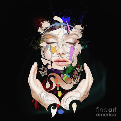 Painting - Abstract Portrait Number Sixteen by Erik Brede