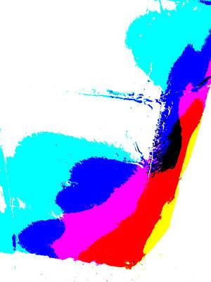 Digital Art - Abstract Rainbow Light 2b by Artist Dot