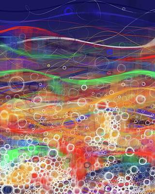 Digital Art - Abstract Rainbow by Phil Vance