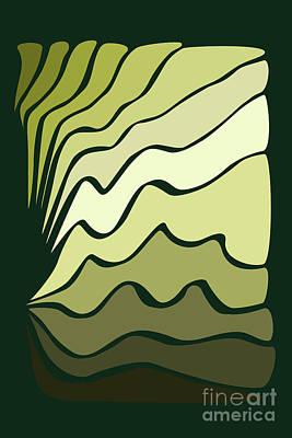 Digital Art - Abstract Retro Style Pattern by Clayton Bastiani