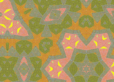 Drawing - Abstract Squares Pattern 6 by Artist Dot