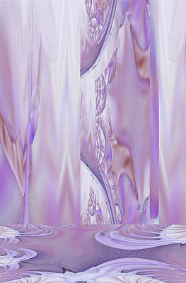 Digital Art - Liquid Lavender by Robert G Kernodle