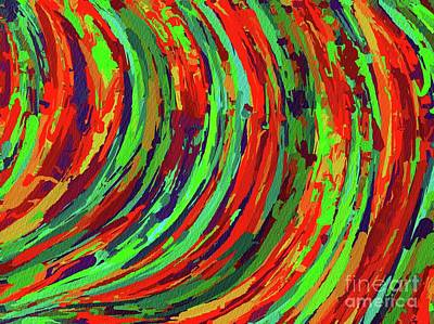 Royalty-Free and Rights-Managed Images - Abstract Wall Art, No. 19 by Esoterica Art Agency