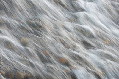 Photograph - Abstract Waterfall by Jennifer Grossnickle