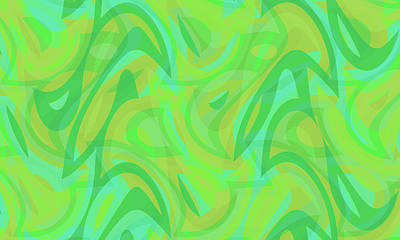 Digital Art - Abstract Waves Painting 0010089 by P Shape
