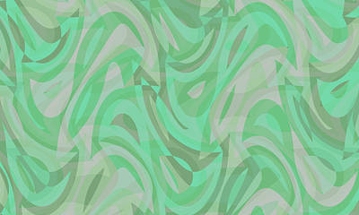Digital Art - Abstract Waves Painting 0010092 by P Shape