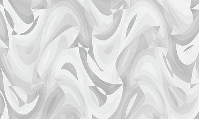 Digital Art - Abstract Waves Painting 0010120 by P Shape