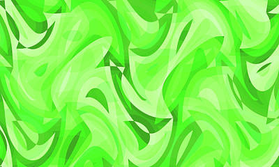 Digital Art - Abstract Waves Painting 007766 by P Shape