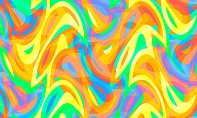 Travel Rights Managed Images - Abstract Waves Painting 008363 Royalty-Free Image by CarsToon Concept