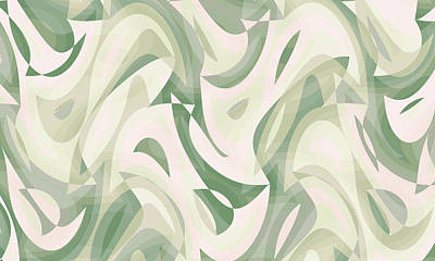 Sean Rights Managed Images - Abstract Waves Painting 008424 Royalty-Free Image by CarsToon Concept