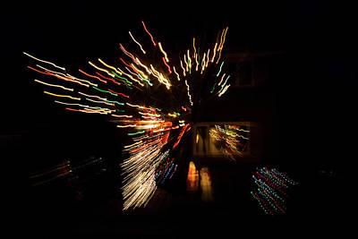 Photograph - Abstracted Christmas -  by Georgia Mizuleva