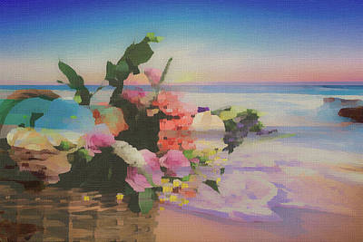 Mixed Media - Abundance Of Beauty by Clive Littin