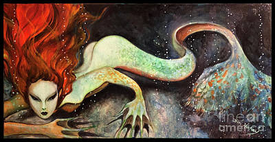 Painting - Abyss Kiss by Dori Hartley