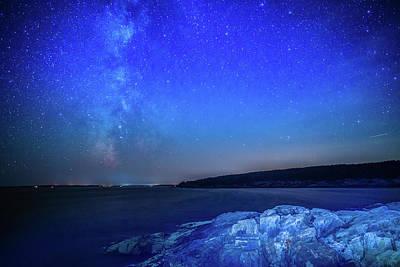Photograph - Acadia Milky Way by Stefan Mazzola