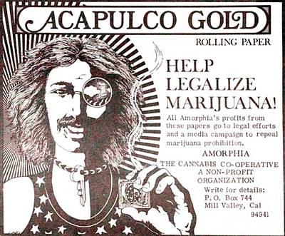 Digital Art - Acapulco Gold Ad by John Lyes