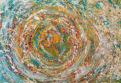 Painting - Acceleration by Christine Cloutier