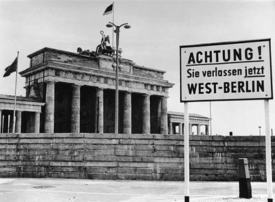 Achtung Art Print by Central Press