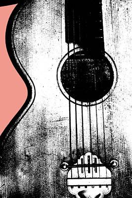 Digital Art - Acoustic Guitar 2 by Artist Dot