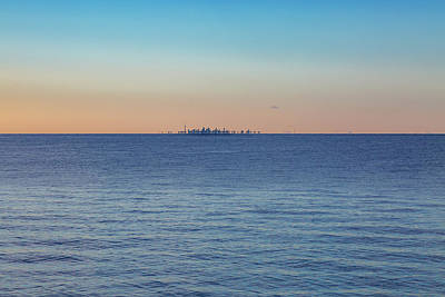 Photograph - Across Lake Ontario by Jack R Perry